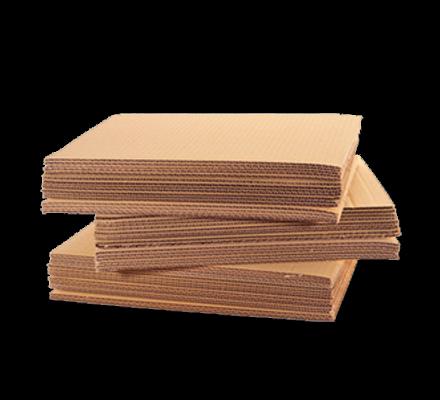 Sheet cardboard