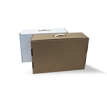 Boxes for towels and textiles